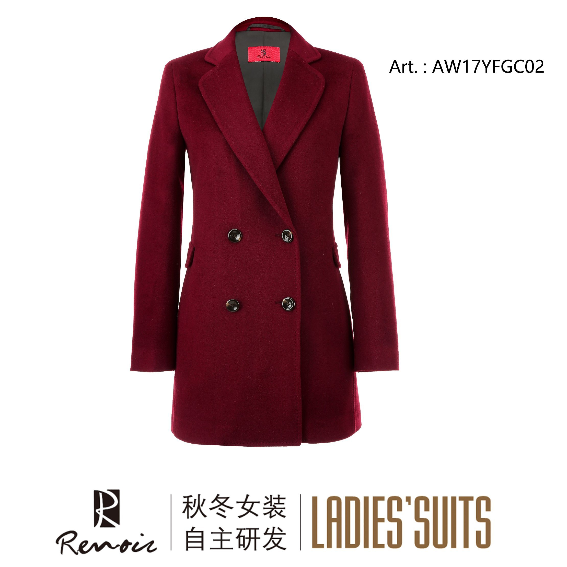 OEM Winter Long Women′s Dust Coat