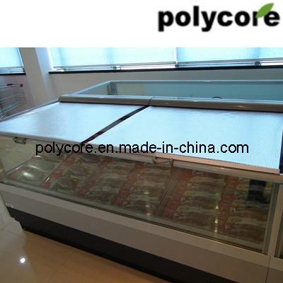 Night Curtain for Refrigeration Display Showcase