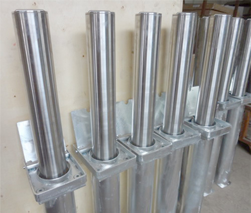 Manual Retractable Bollard pH200 (Stainless steel is optional)