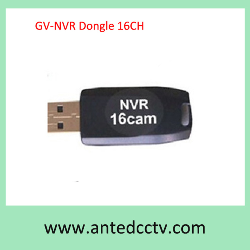 16CH IP Camera Geovision Gv V8.5 USB NVR Dongle Key