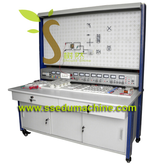Electronics Trainer Electronics Workbench Electrical Engineering Lab Equipment Teaching Model