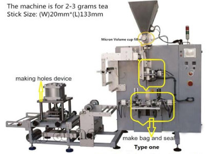 Automatic Tea Bag with Hole Packing Machine