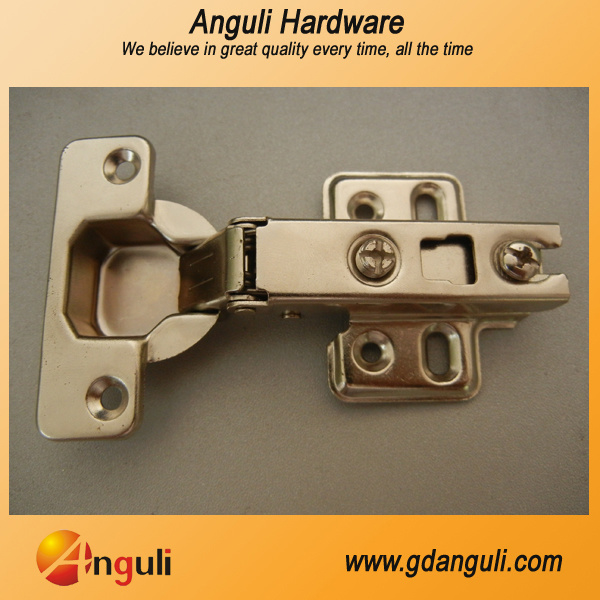 Two Way Slide on Concealed Hinge for Kitchen Cabinet