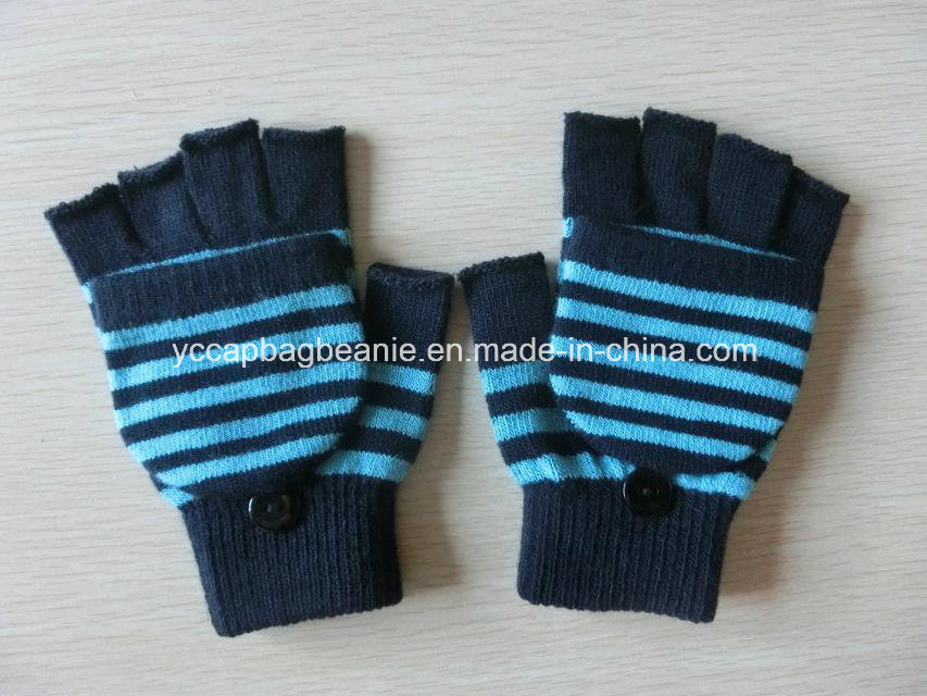 100%Acrylic Fingerless Knitted Warm Glove