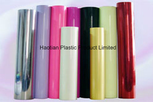 PVC Rigid Sheet for Box /Stationary/Card with All Colors