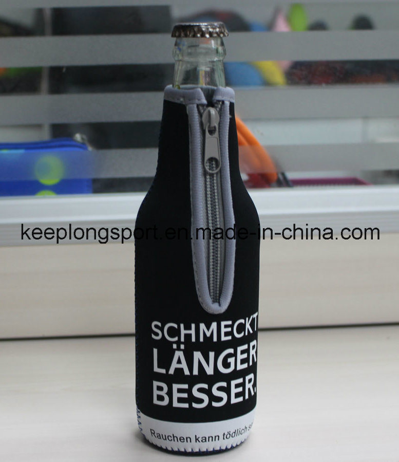 New Deisgn Custom Professional Neoprene Bottle Holder, Bottle Cooler Bag