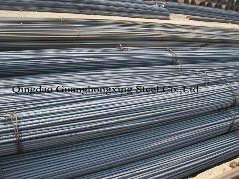 HRB400, ASTM A706, ASTM A615 Gr420, JIS SD390, BS4449 Gr460 Deformed Steel Bar