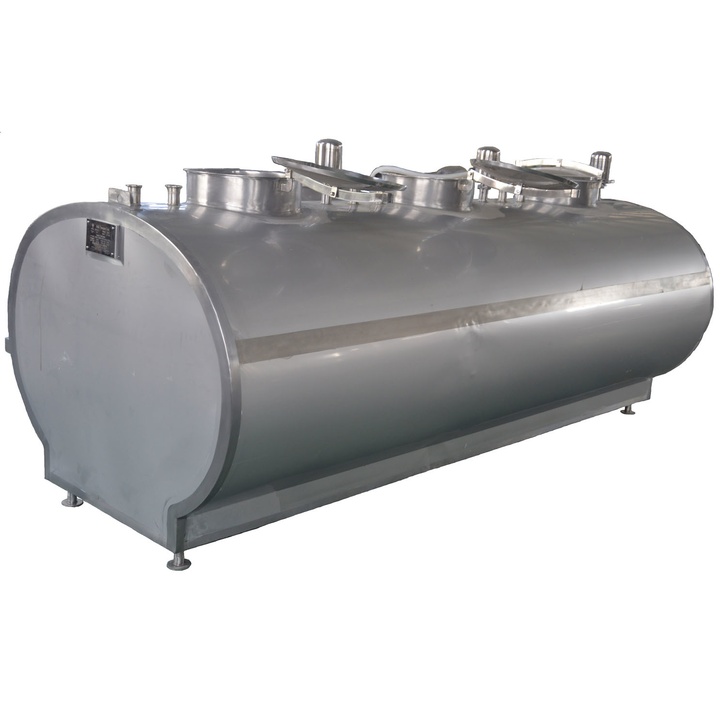 Stainless Steel 3000L Fresh Milk Truck Tank