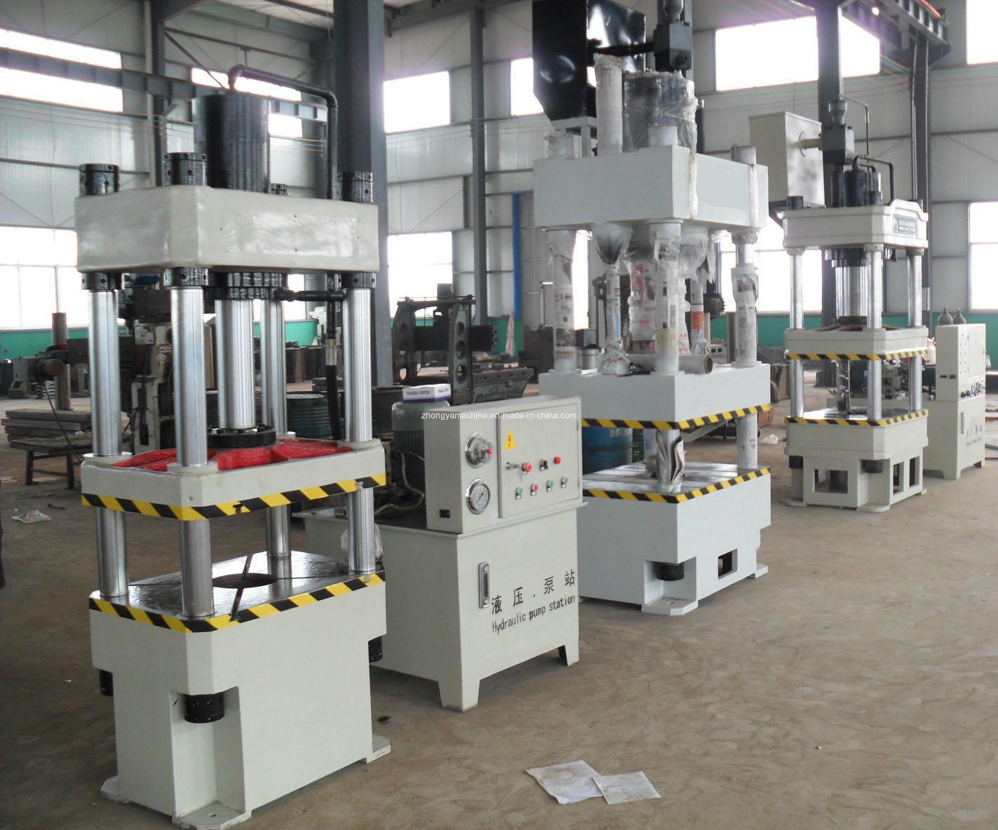 Folding Machine Four Column Hydraulic Press Y32-630t