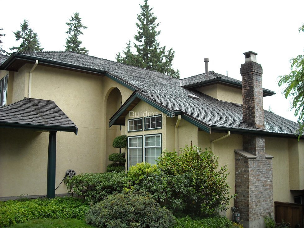 Popular Colorful Fiberglass Roof Tile / Bitumen Shingles