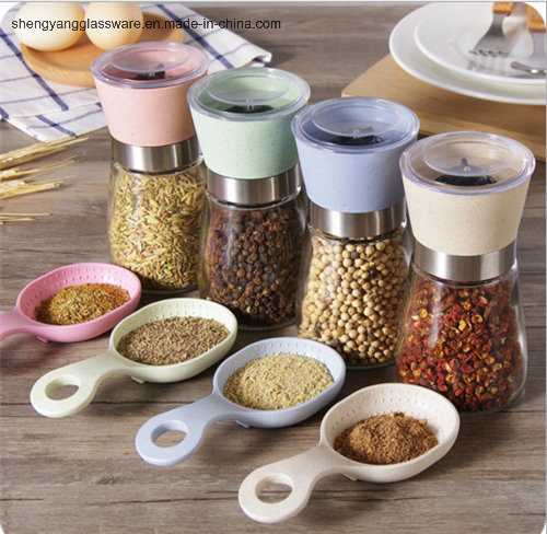 100ml Pepper Spice Glass Grinder/Food Machine
