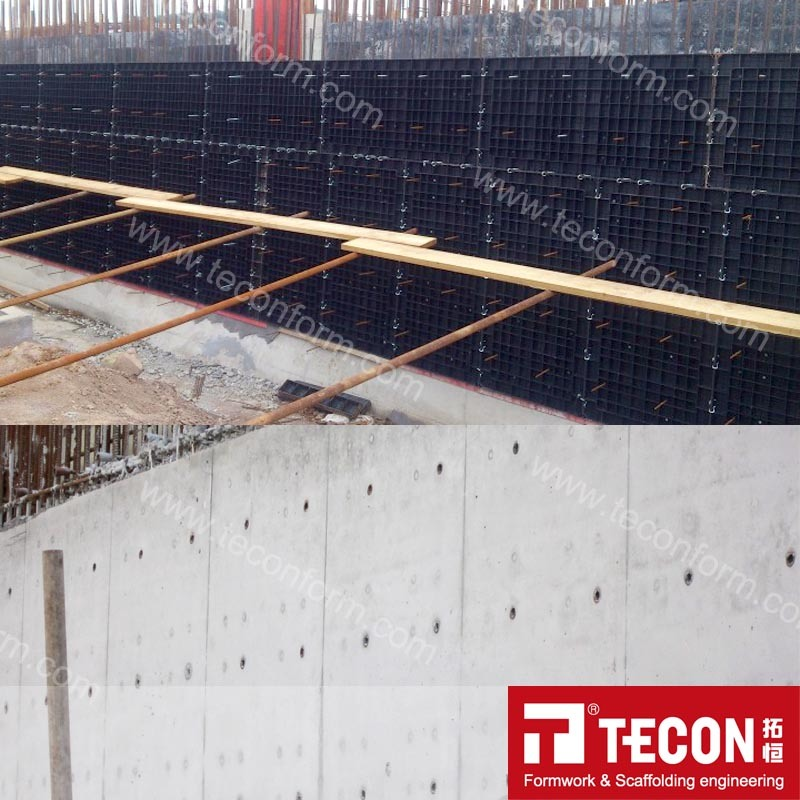 User Friendly Resuable Plastic Formwork (ECO)