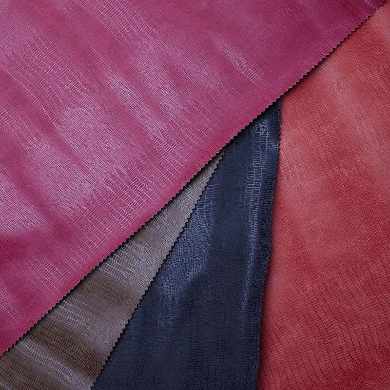 Yangbuck PU Leather with Lizard Pattern (YF7804)