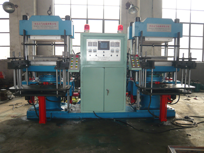 China Double Type Automatic Plate Vulcanizing Press