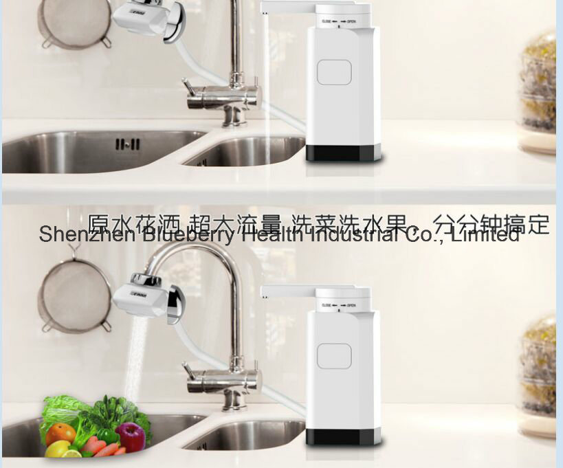 Coutertop Tap Water Purifier with LCD Lively Display Life Span and Built-in Composite Filter