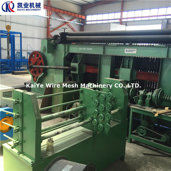 Hexagonal Wire Mesh Machine/Gabion Mesh Machine