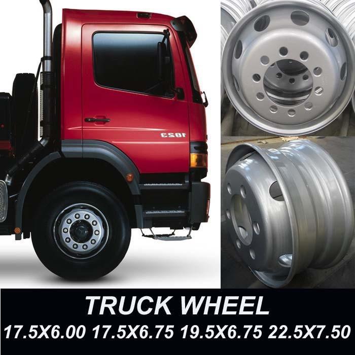Truck Wheel 17.5X6.00 17.5X6.75 19.5X6.75 22.5X7.50
