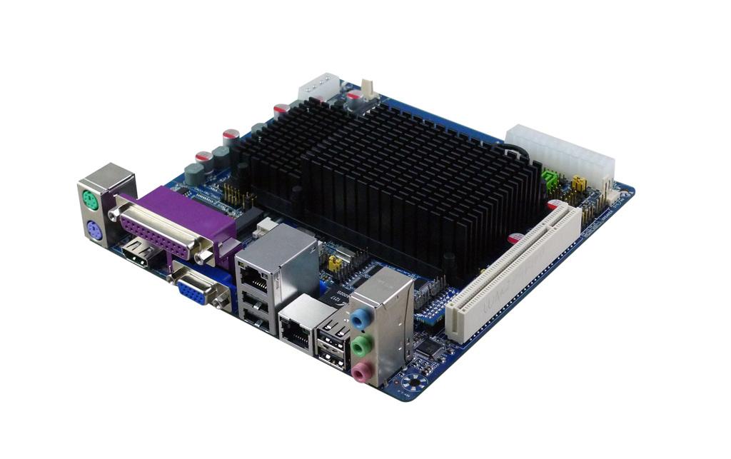 Atom D2500/D2550/D2650 Itx Motherboard, 2xmini-Pcie, Dual Lans, up to 6 COM Ports