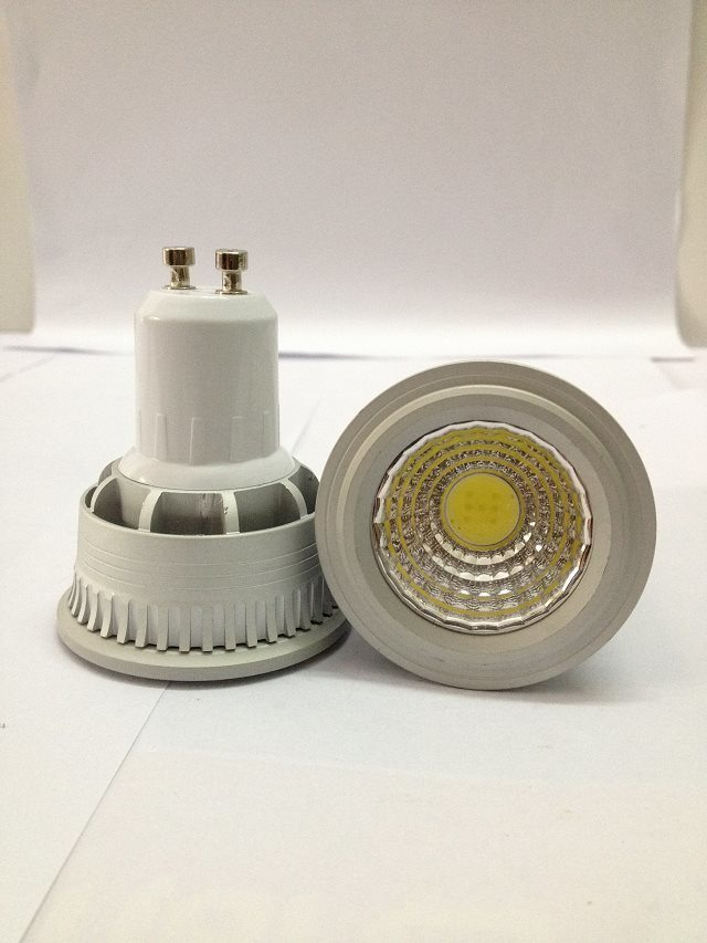 3years Warranty COB 5W GU10 LED Spotlight Bulb