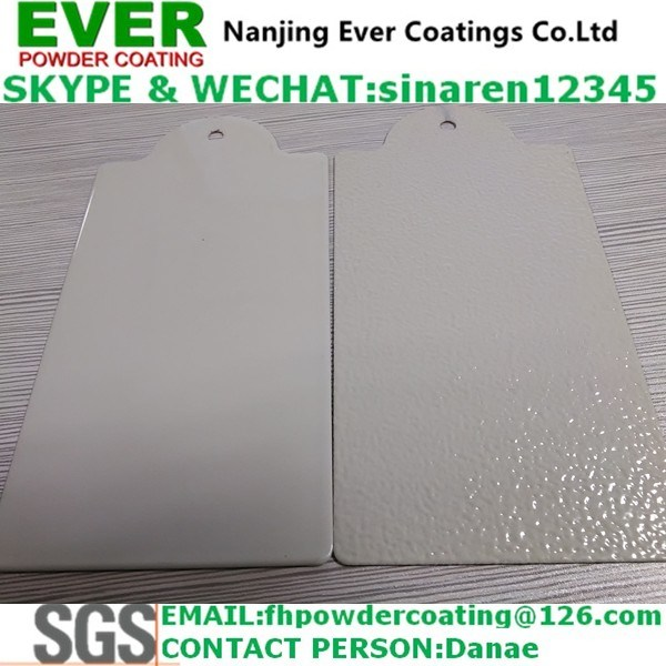 Electrostatic Ral7035 Grey Color Smooth/Texture Powder Coating Paint