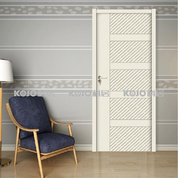 OEM/ODM WPC Raw Material Door Sheet Painting Door (YM-036)