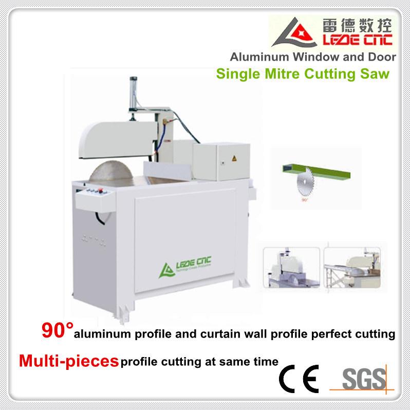 Single Mitre Cutting Saw Machine for Aluminum Window Ljc-500