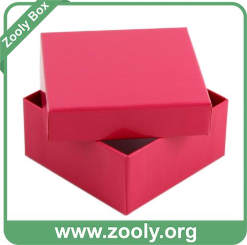 Cardboard Box / Rigid Plain Kraft Box / Cardboard Paper Gift Box (ZC001)