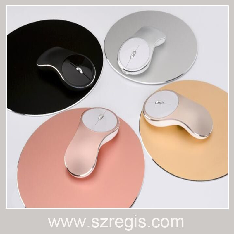 Professional Aviation Aluminum Alloy Computer Wireless Mouse