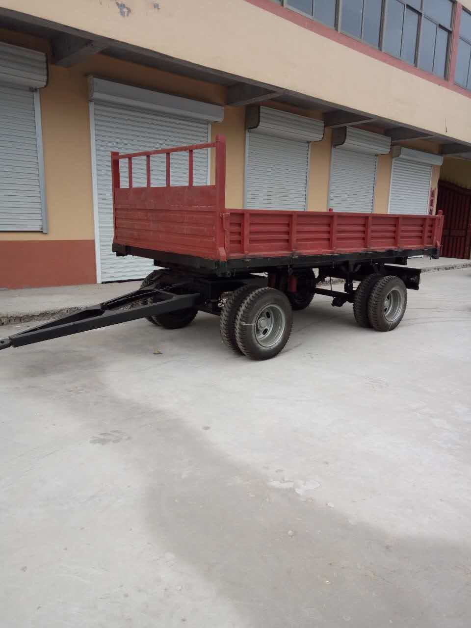 10 Ton Air Brake Tipping Trailer