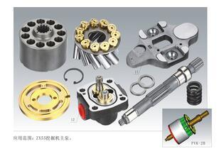 NACHI Pvk2b-505 Hydraulic Pump Repair Spare Parts for Zax55 Construction Machinery Excavator Main Pump