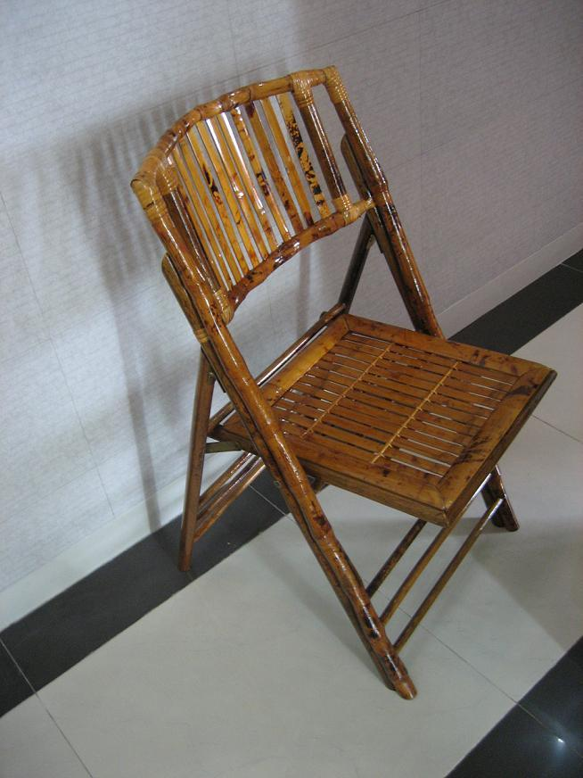 China Bamboo Folding Chair N 4 China rental Furniture rental chair