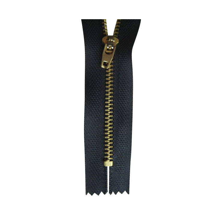 5# Brass Zipper with Golden Teeth (SZ-006)