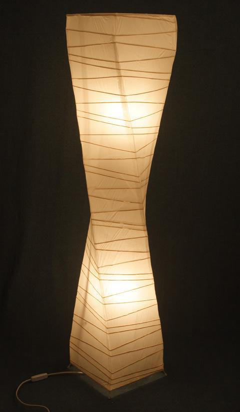 China Floor Lamp Pf009 China Paper Floor Lighting