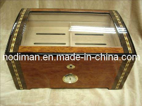 High Gloss Solid Wood Cigar Box (P7)