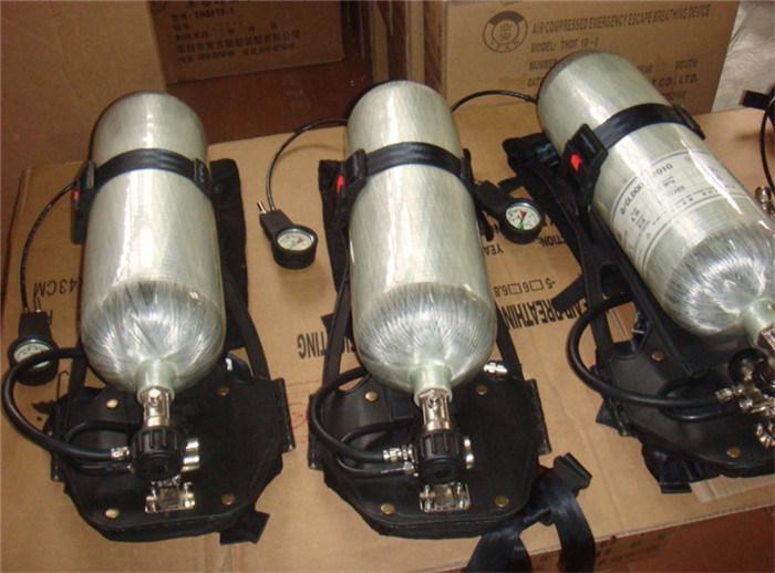 Respirator Fire Fighting Breathing Apparatus Set 5L 6L