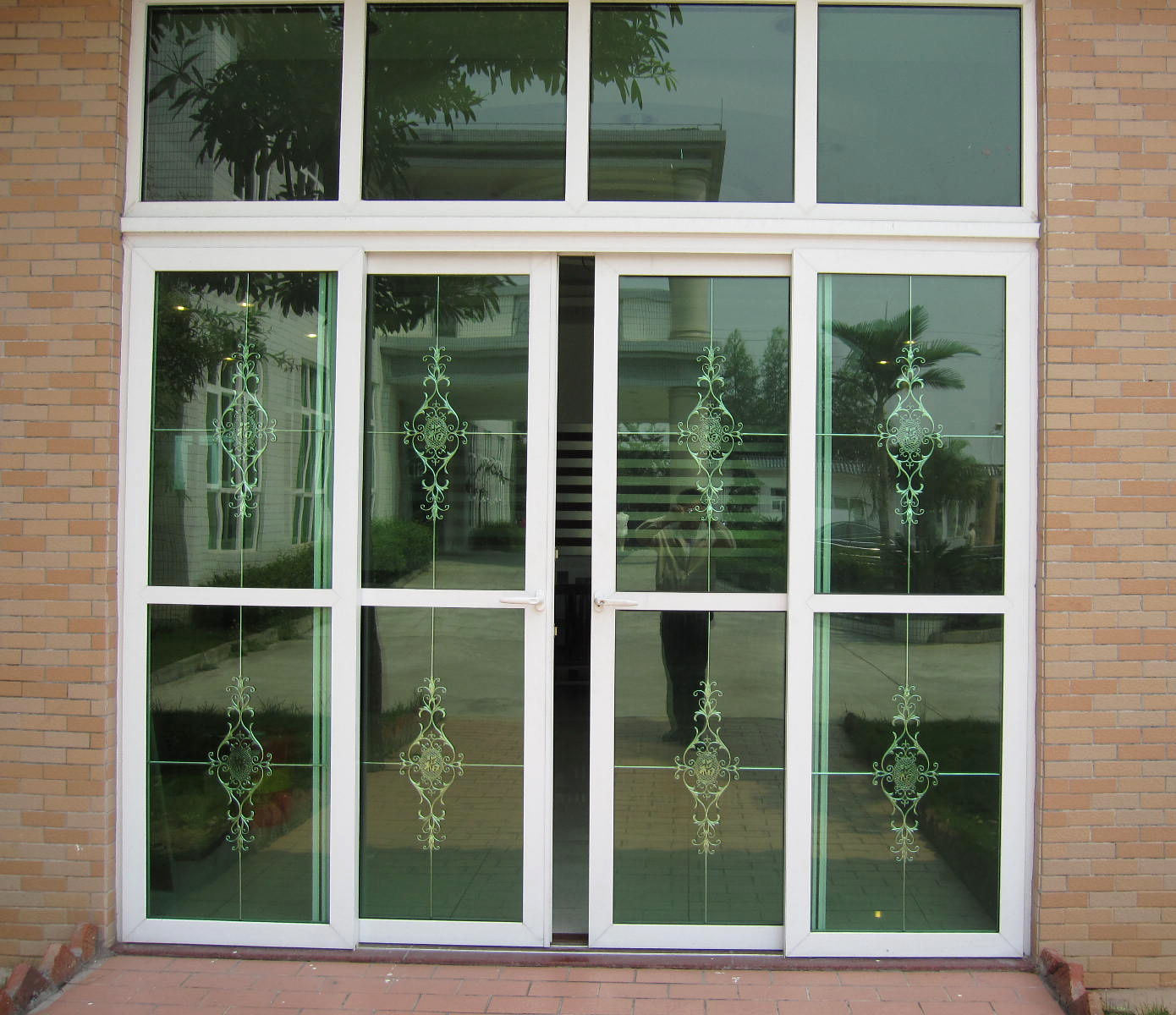 China energy efficient double glazed australia standard for Aluminium glass windows and doors