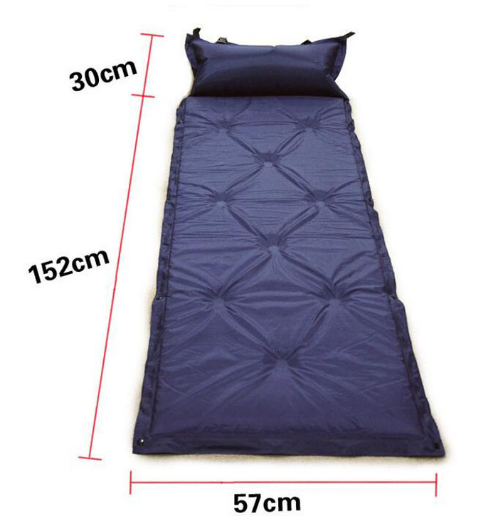 Camping Outside Splicing Inflatable Moisture Sleeping Pad