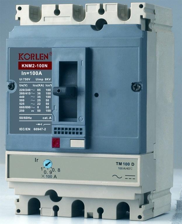Supply High Quality 125A MCCB (KNM2)