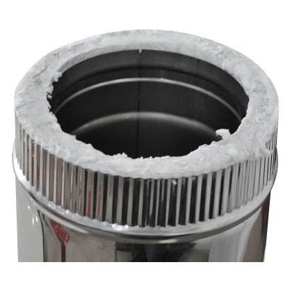 CE Flue Pipe Spigot Straight Pipe Chimney