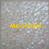 China White Abalone Shell Mosaic Tiles, Decorative Tiles ...