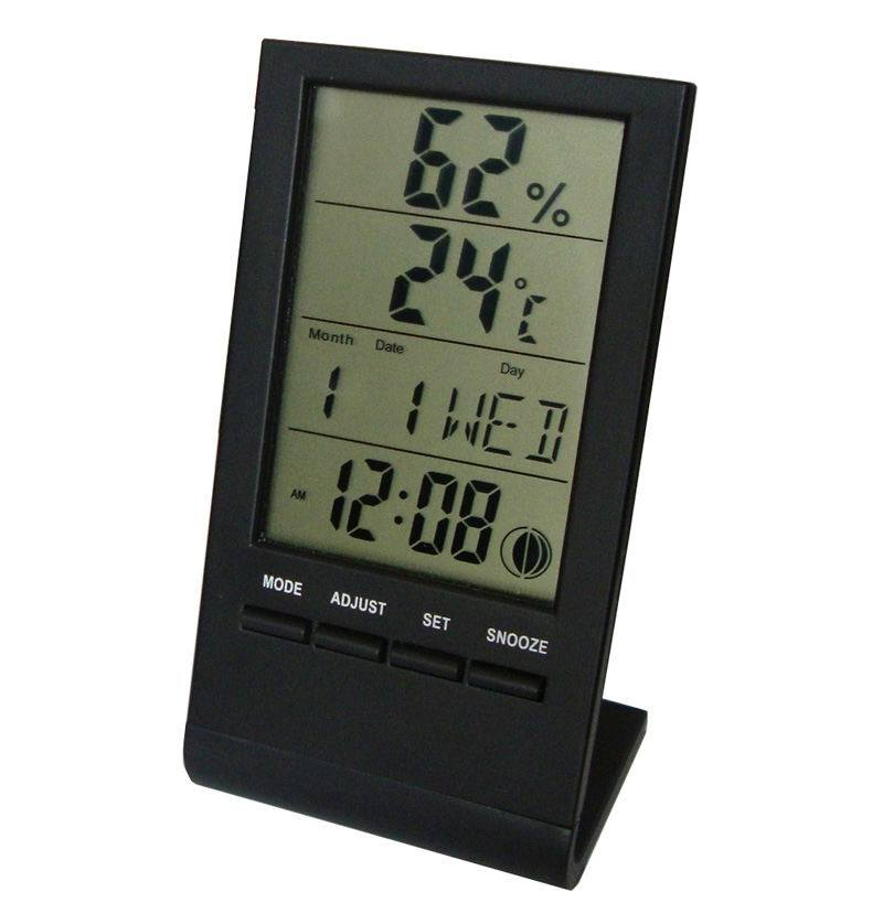 china digital thermometer with hygrometer china digital. Black Bedroom Furniture Sets. Home Design Ideas