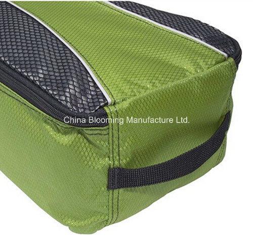 Waterproof Nylon Custom Sports Gym Portable Mesh Travel Shoes Bag