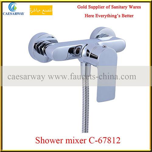 Brass Single Lever Shower Mixer&Faucet