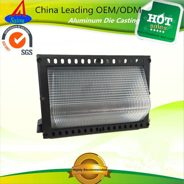 China Manufacturer LED Wallpack Lighting Aluminum Housing