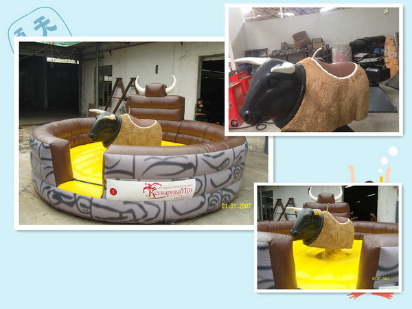 The best Inflatable Mechanical Bull Rodeo for Events Rental