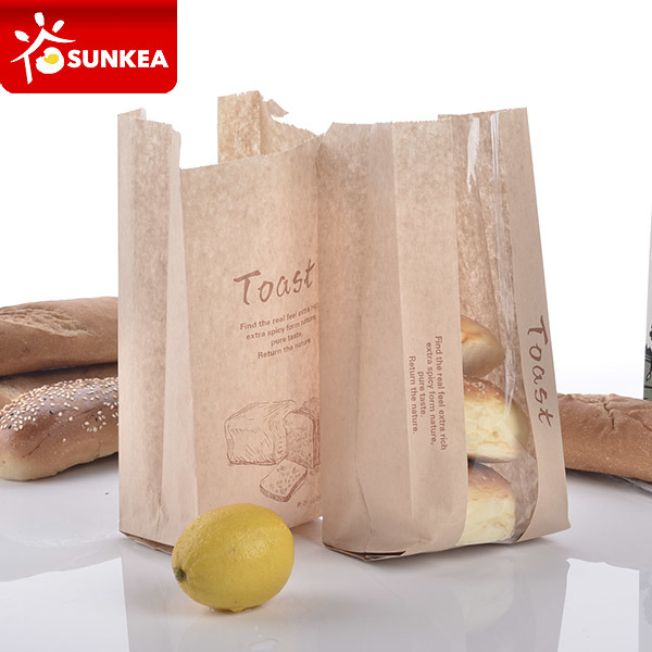 Take Away Fast Food Craft Paper Bag
