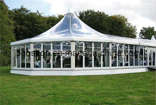 PVC Refuge Fabric Coated Tarpaulin Tent (1000dx1000d 20X20 650g)