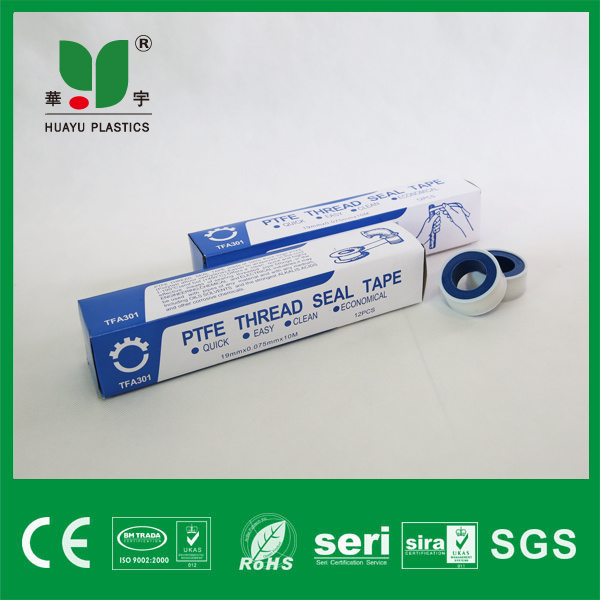 Teflon Tape PTFE Tape Seal Tape with Transparent Spool