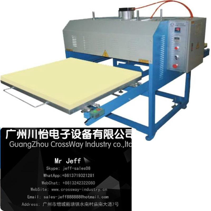 pneumatic Large Format Sublimation Heat Press 100mm