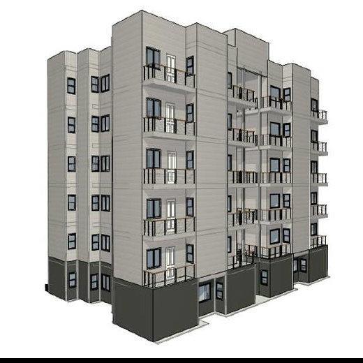 Multi-Stories Steel Building as Luxury Restore Hotel